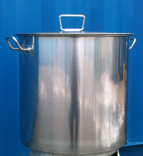 Brewing Equipment 50 Litre Stainless Steel Pot The