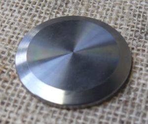 1 1/2 inch Tri Clover Blanking plate