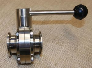 1.5 inch Tri-Clover Butterfly Valve