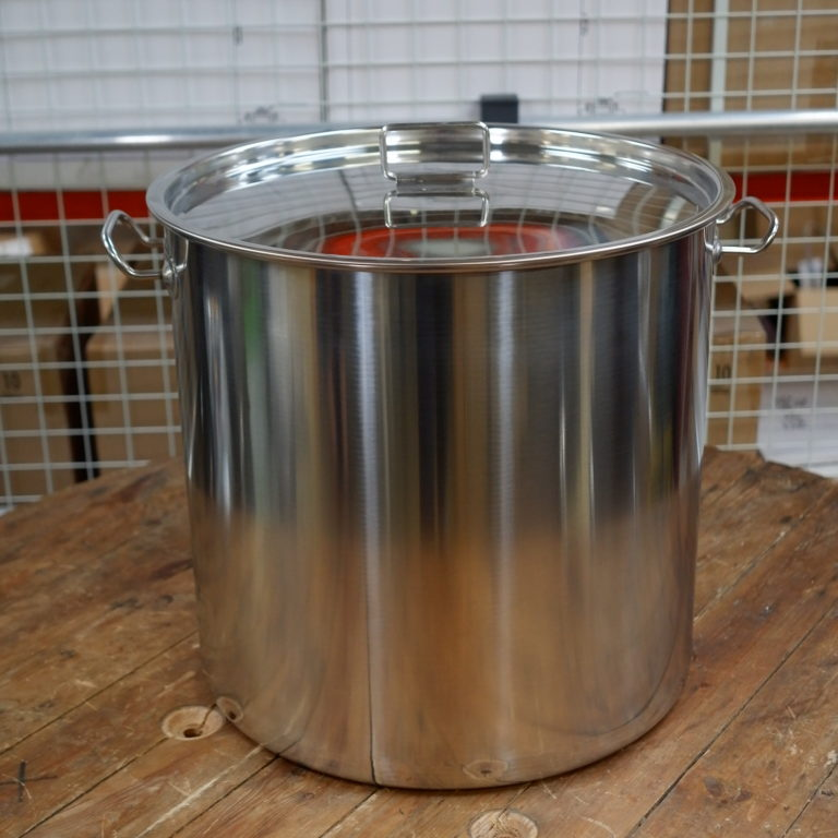50 Litre stainless steel pot