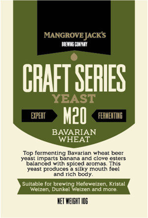 Mangrove Jack's Bavarian Wheat Yeast 10 g