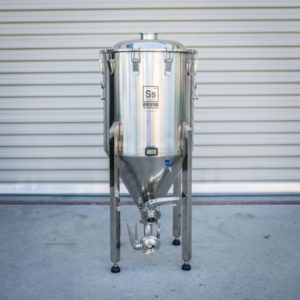 SS BREWTECH HALF BARREL 17 GAL BREWMASTER EDITION CHRONICAL FERMENTER