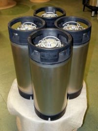 Used 19 litre Stainless Keg