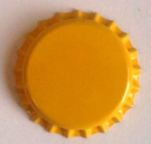 Crown Caps YELLOW