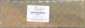 Gelatine 10 sheets