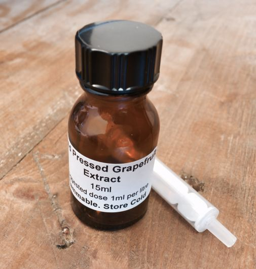 Cold Pressed Grapefruit Extract 15ml