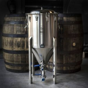 CHRONICAL HALF BARREL 17 GAL FERMENTER