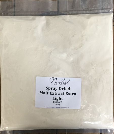 Spray Dried Malt Extract Extra Light 500g