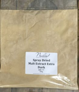 Spray Dried Malt Extract Extra Dark 500g