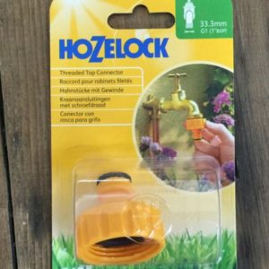 Hozelock 1 inch BSP fitting
