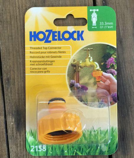 Hozelock 1 inch BSP fitting