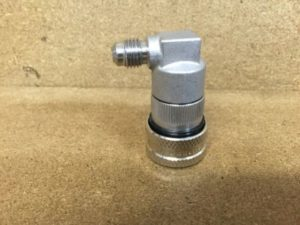 Stainless ball lock disconnect liquid