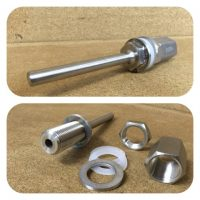Thermowell-Stainless 100mm Weldless