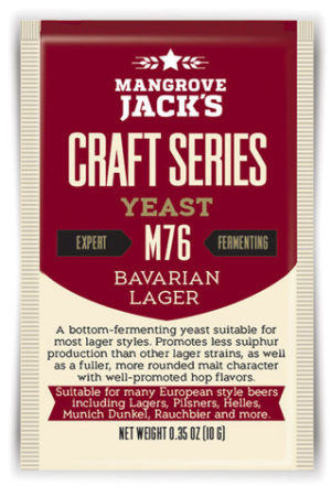 Mangrove Jacks Bavarian Lager M76 Yeast