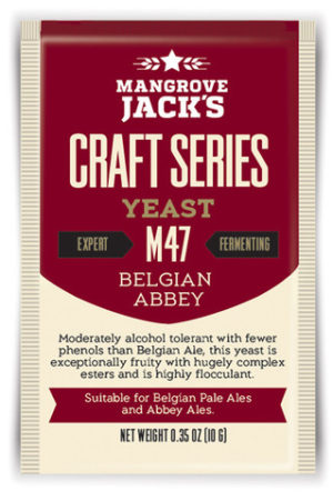Mangrove Jacks Belgian Abbey M47 Yeast