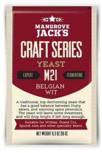 Mangrove Jacks Belgian Wit M21 Yeast