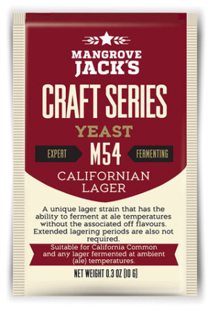 Mangrove Jacks Californian Lager M54 Yeast