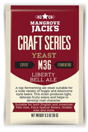 Mangrove Jacks Liberty Bell Ale M36 Yeast