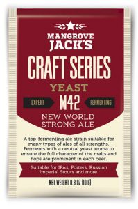 Mangrove Jacks New World Strong Ale M42 Yeast