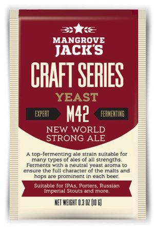 Mangrove Jacks New World Strong Ale M42 Yeast