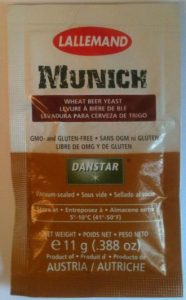 Munich 11g Wheat Beer Yeast