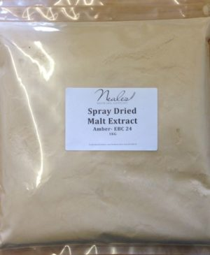 Spray Dried Malt Extract Amber 1kg