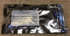 NBS Classic English Ale Yeast 12g