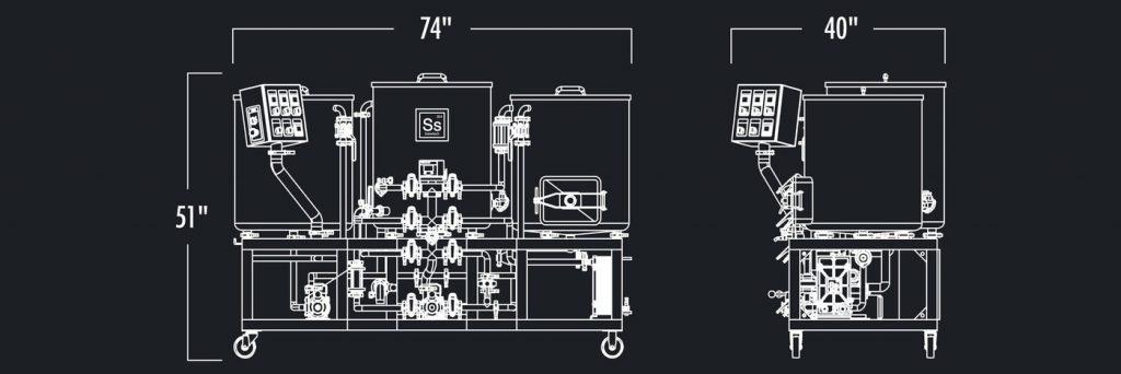 Ss Brewtech 1 Bbl Nano Brewhouse
